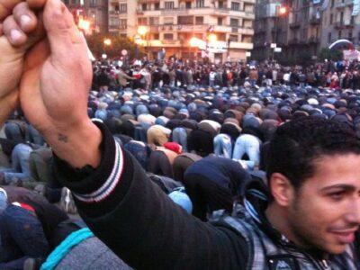 Cristiani a Tahrir