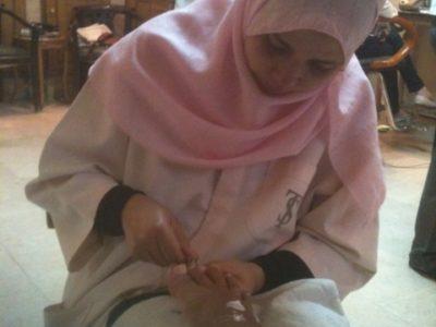 Sì, è il tradizionale post sulla ceretta in Egitto
